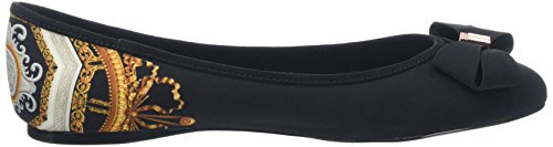 Ted Baker Women's Immep 2 Closed Toe Ballet Flats Black Versailles Dd8H5zI