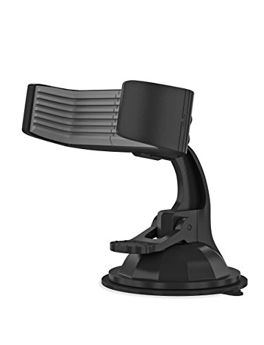 Just Wireless Car Phone Mount for Dash or Windshield Suction