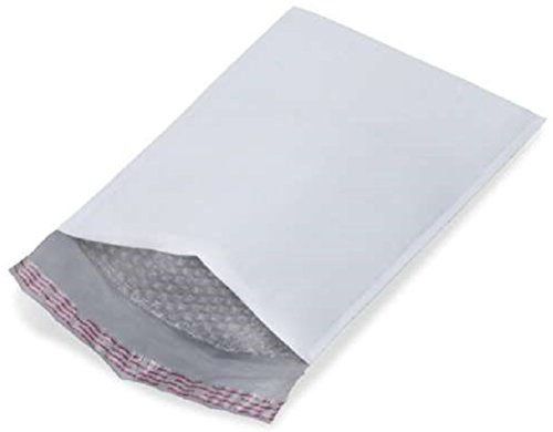 25 Pack Small Poly Bubble Mailers 4x7. Padded envelopes 4 x 7 White cushion envelopes Self Seal. Shipping bags with for mailing, packing. Packaging in bulk, wholesale ()