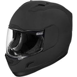 Icon Alliance Solid Rubatone Helmet - Large/Rubatone Black