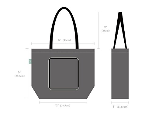 Lightweight Polyester Folding Beach Travel Tote Bag, Wallet Style Shopping Bags, Beach Grocery Storage Shoulder Bag, Pack of 2, Dark Grey