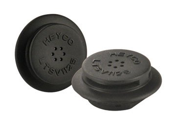 Heyco 3481VB Liquid Tight Snap-In Vent Plugs (package of 100)