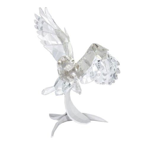 Swarovski Soulmates Snowy Owl Figurine (Swarovski Open Wing)