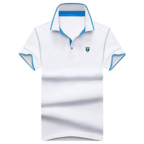 Matasleno Men's Hawaiian Shirt Button Down Party Casual Holiday Camp Beach Shortsleeve Tee White (Capilene 2 Cap)