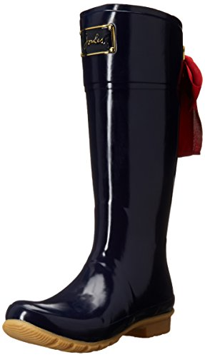 Joules Women's Evedon Rain Boot, French Navy, 9 M US by Joules