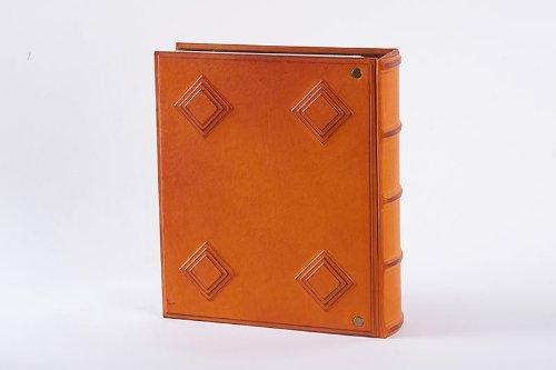 LuxusOlymp 's Leather Photo Album XL ARABIQUE - Handmade by LuxusOlymp (Image #1)