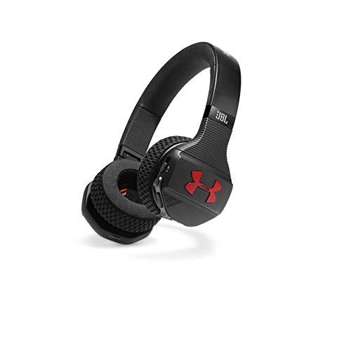 JBL UA Sport Wireless Train on-Ear Headphones Black/red by JBL