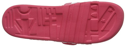 adidas Women's Adissage W Beach and Pool Shoes Pink (Chalk Pink S18/Ftwr White) vcDzp