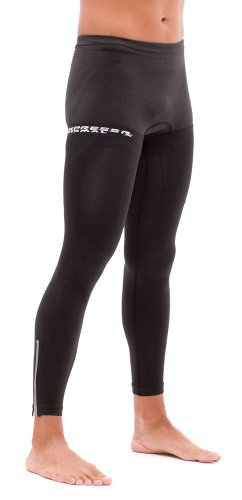 Tight Ultra Compressrx - Zoot Sports Unisex Adult Active Thermal Leg Warmer, Black, 1