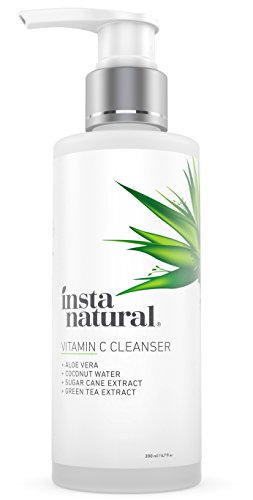 Vitamin-C-Facial-Cleanser-Anti-Aging-Breakout-Blemish-Wrinkle-Reducing-Gel-Face-Wash-Clear-Pores-on-Oily-Dry-Sensitive-Skin-with-Organic-Natural-Ingredients-InstaNatural-67-OZ