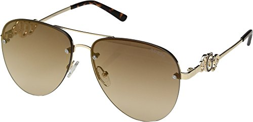 GUESS Womens GF6054 Shiny Gold/Brown/Brown Gradient Lens One - Women For Guess Eyewear