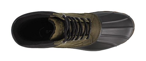 Sperry Top-sider Mens Brewster Rain Boot Oliva Scuro