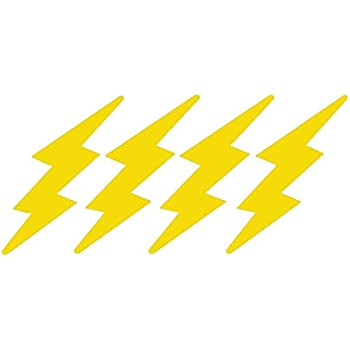 6f320387f LIGHTNING BOLTS 4 PACK - size: 3