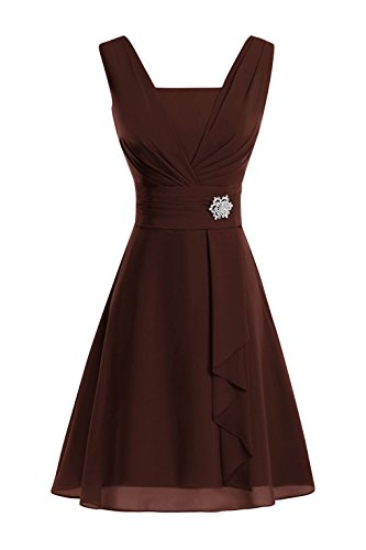 champagne and chocolate wedding dresses - 8