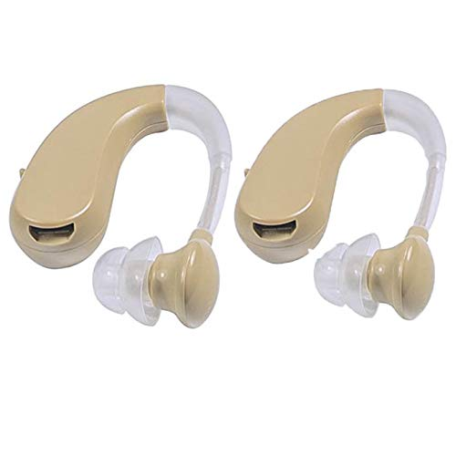 "Clearon Rechargable Hearing Amplifier CL-202S /""FDA Approved"" High Quality Digital BTE Small Size. (2 Pack)"