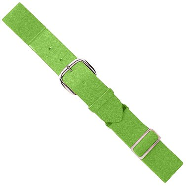 Lime Light Green Adult Baseball/Softball Adjustable Elastic Belt