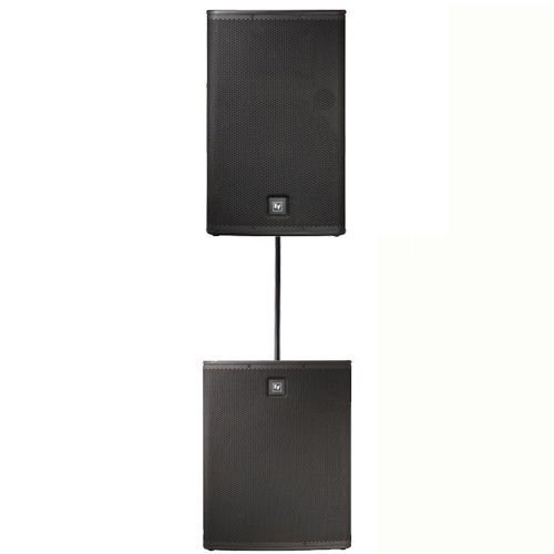 (Electro-Voice ELX115P Powered Speaker & ELX118P Subwoofer with Speaker Pole)