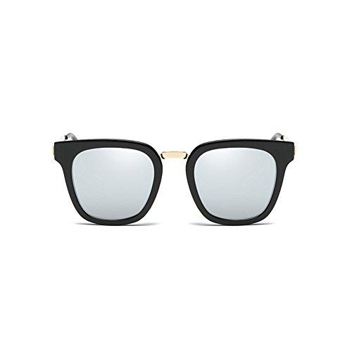 2 de Sol de Mujeres Gafas Gafas de Sol Conducción cuadradas Gafas polarizadas 1 Sol DT Gafas Color de 1RxqwWT5T6
