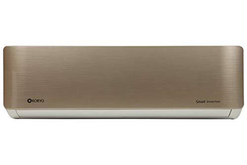 Koryo 1 Ton 3 Star Inverter Split AC (Copper, IGGKSIAO2012A3S INGG12, Gold)