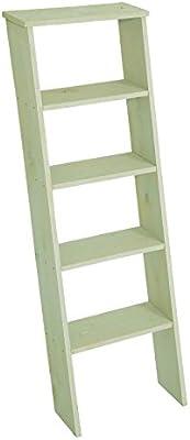 Madera decorativa para escaleras verde, aprox. 38 x 118 cm, decoración escaleras, madera de pino, madera Escaleras para decorar verde: Amazon.es: Jardín
