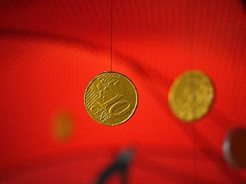 (Photography Poster - Coin, Money, Gold Coins, Euro - 24