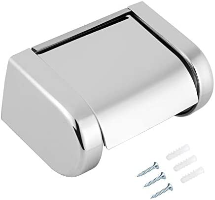 ZJN-JN ティッシュホルダー 浴室用 ウォールメタル紙タオルホルダー、ステンレススチール製ロールペーパーホルダーラックブラケットウォールタオルバスルームのトイレをマウント