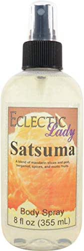 Satsuma Body Spray (Double Strength), 2 ounces