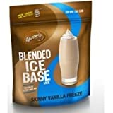Caffe D Amore Skinny Vanilla Frappe Freeze Blended Ice Base Mix, 3 Pound -- 5 per case.