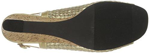 Annie Shoes Women's Alia Dress Sandal Gold 8mS6cNZl6
