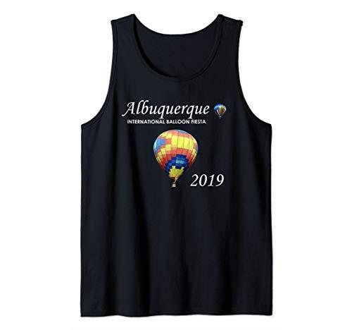 Albuquerque Hot Air Balloon Fiesta 2019 Festival Tank Top