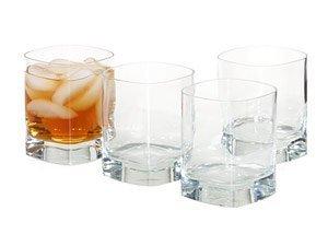 (Luigi Bormioli Strauss 12-Ounce Double Old Fashioned Glass, Set of 4)