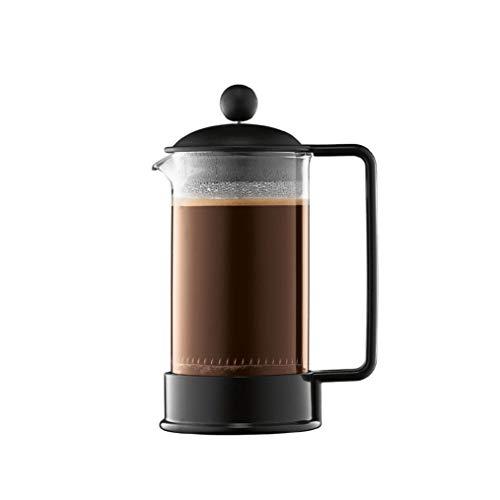 Bodum – 1543-01 – Brazil – Cafetera 3 Tazas – 0,35 l – Color Negro