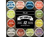 Olivelle Sea Salt Sampler: Artisan Sea Salts From Around The World