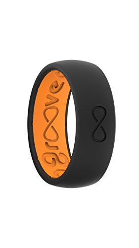 Design Band Comfort Fit (Groove Rings Silicone Elastomer Wedding Rings, Breathable, Comfort Fit, 2 Part Design, Funded on Kickstarter)