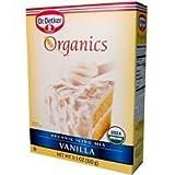 European Gourmet Bakery Organic Vanilla Icing Mix, 11.3 Ounce - 12 per case.