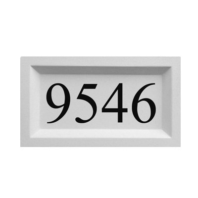 (Personalized Address Plaque by ABC Address Blocks. 9
