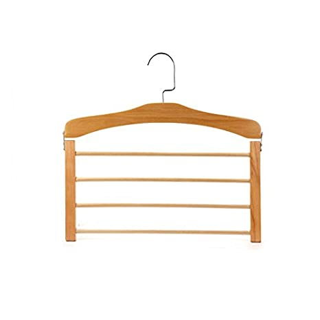 Hanger. FORWIN UK- Perchero de Madera Maciza de múltiples ...