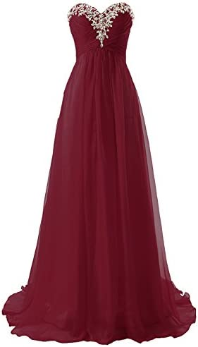 91ae5db0ad JAEDEN Sweetheart Formal Evening Dresses Strapless Long Prom Gown  Bridesmaid Dress