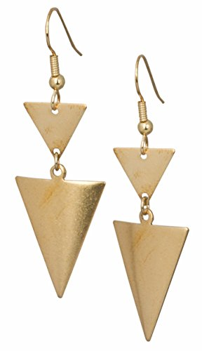 Triangle Earrings Statement SPUNKYsoul Collection