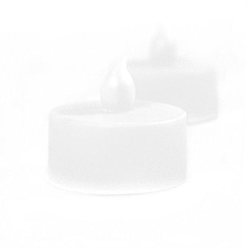 Koyal Flameless Tealight Candles, (Cheap Centerpieces For Sweet 16)