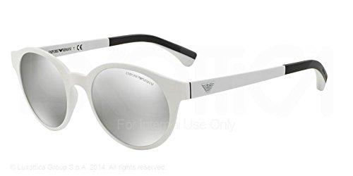 Emporio Armani EA 4045 Men's Sunglasses Matte White 51
