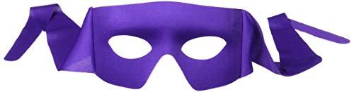 Forum Novelties Mens Purple Masked Man with Ties Venetian Mardi Gras Mask Costume Accessory -
