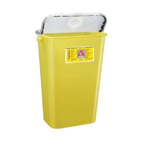 Bemis Healthcare 211 004 Bemis Healthcare Quality Medical Products Needle Disposal Products- 11 Gallon Chemotherapy Container/Gasketed/Dual Purpose Lid - Product Number : #211 004