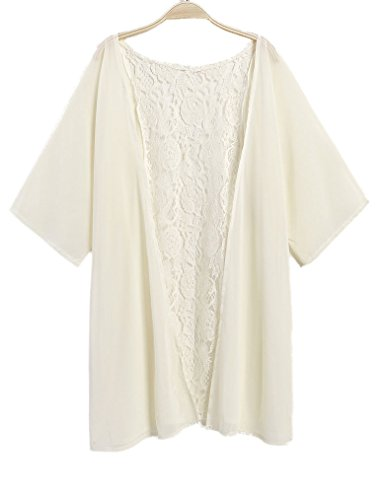 Naggoo Womens Chiffon Cardigan Swimsuit
