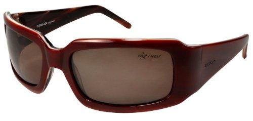 Edge I-Wear Women's Handmade Italian Acetate Optical Rectangular Sunglasses Wide Temple - Acetate Glasses Italian