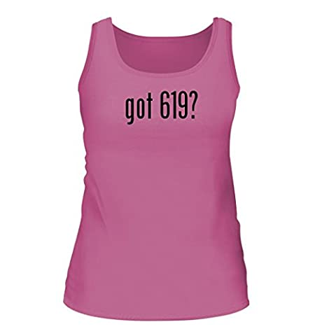 got 619? - A Nice Women's Tank Top, Pink, Small (Schlage F40 Acc 619 Cam)