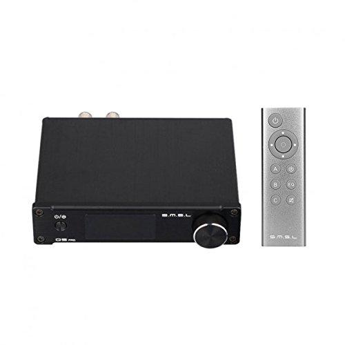 6 opinioni per SMSL Q5 Pro 192KHZ 45W Hi-Fi Amplificatore Impianto Stereo Digitale LED