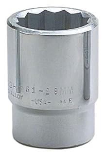 "Wright Tool 61-34MM 3/4"" Drive 12 Point Standard Metric Socket, 34mm (B005G0PGSU) | Amazon Products"