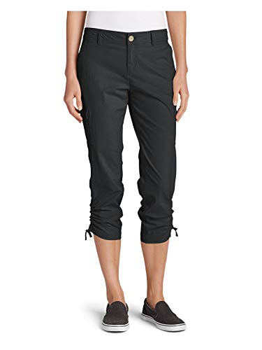 Eddie Bauer Women's Adventurer Stretch Ripstop Crop Cargo Pants - Slightly Curvy ()