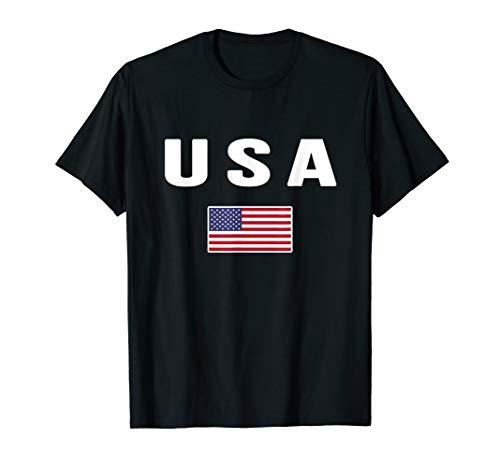 USA T-shirt American Flag US America United States 4th July
